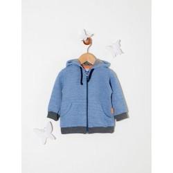 Campera con capucha rustica bebé Premium