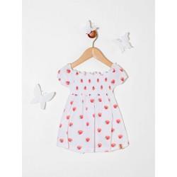 Vestido estampado frutillas Premium