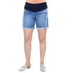 Short de jean con flecos Qué Será