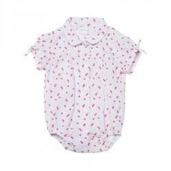 Body camisa estampada beba Pilim