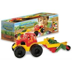 Tractor chico con arado Duravit