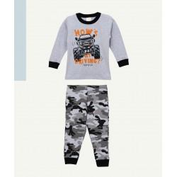Pijama camulado nene Naranjo