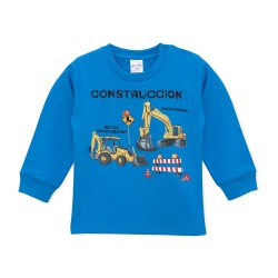 Remera bebe construccion Ruabel