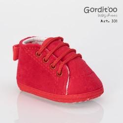 Botineta plush roja Gorditoo
