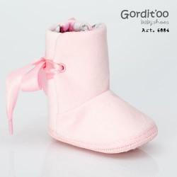 Bota alta plush rosa Gorditoo