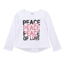 Remera peace nena Gepetto