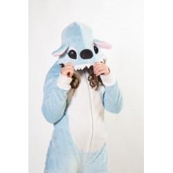 Pijama monstruo azul