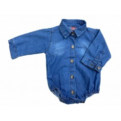 Body camisa jean Guimel