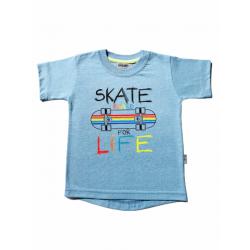 Remera skate manga corta bebe Gruny