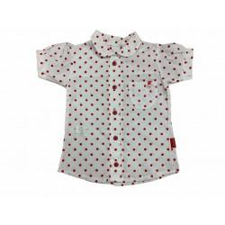 Camisa con lunares Premium Only Baby Verano Off