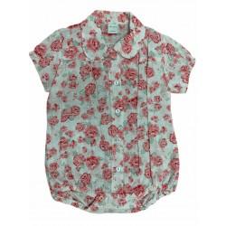 Body camisa floreado Pilim