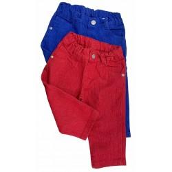 Jean de color bebe cintura ajustable