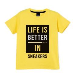 Remera nene sneakers Gepetto