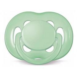 Chupete freeflow 6-18 verde Avent
