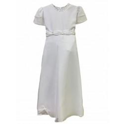 Vestido de comunion con manga doble Children Dior