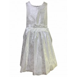 Vestido de comunion raso estampado Children Dior