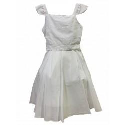 Vestido de comunion con broderie Children Dior