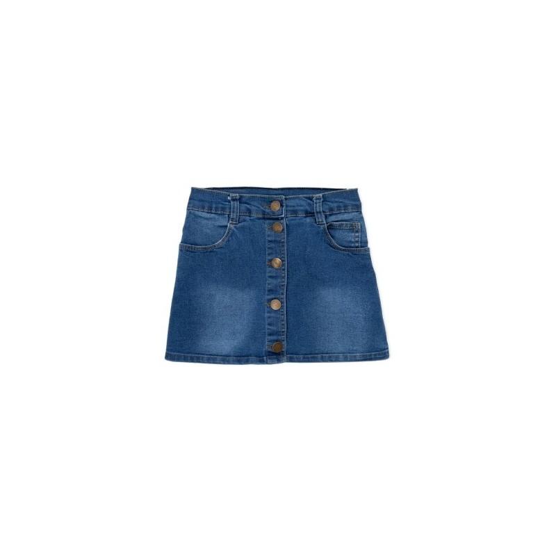 Pollera jeans nena Terra Nature