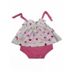 Body vestido beba sin mangas Premium Only Baby