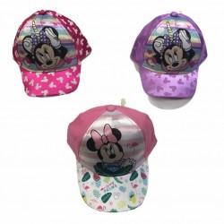 Gorra con visera Minnie Mouse