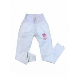 Pantalon gabardina blanco Que Sera