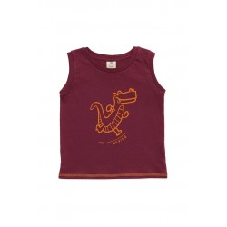 Musculosa bebe dino Ely