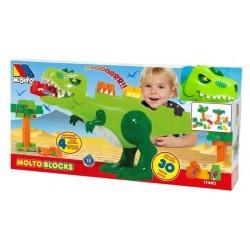 Dinosaurio Molto con bloques
