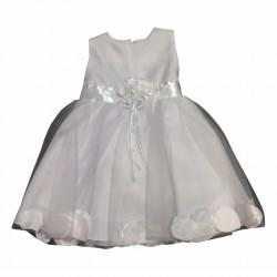Vestido beba con petalos Children Dior