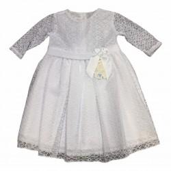 Vestido beba manga larga Nora Dassie