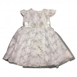 Vetido beba con detalles plata Children Dior