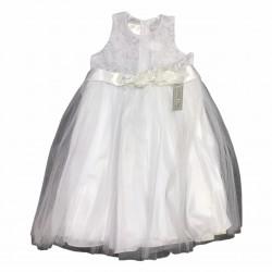 Vestido beba de encaje con torerita Children Dior
