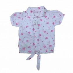 Camisa floreada beba Premium Only Baby Verano Off